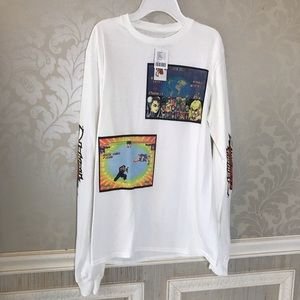 Street fighter NWT long sleeved Tee Hot Topic